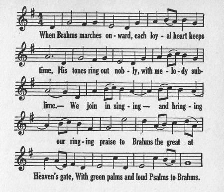 Spaeth - Brahms 1