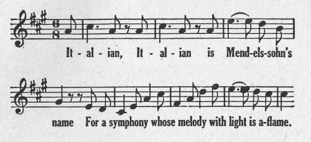 Spaeth - Mendelssohn