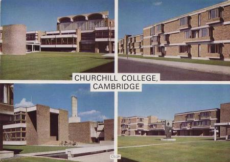 Churchill postcard, 1960s